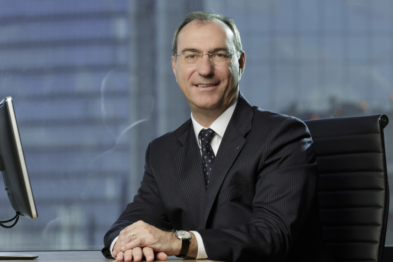Philippe Jouvelot, presidente da AXA do Brasil, que vê 'breakeven' de investimento já em 2017. (Foto: Divulgação)
