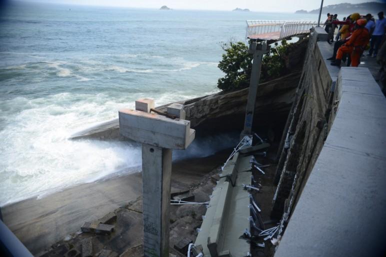 Engenheiros do Crea-RJ e Tribunal de Contas apontaram problemas na obra. (Foto: Agência Brasil)