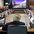 Presidente Michel Temer comanda reunião em Brasília: sinais para os investidores. (Foto: Carolina Antunes/PR)