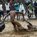 Transtorno causado no Haiti após passagem do furacão Matthew, em outubro. (Foto: Logan Abassi UN/MINUSTAH)