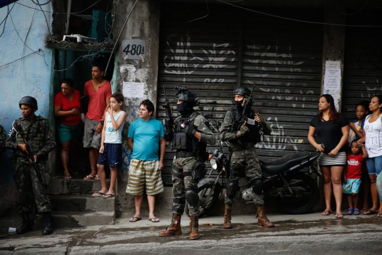 Ocupação militar na Rocinha