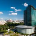 O centro de P&D da Huawei em Shenzhen, na China. (Foto: Divulgação)